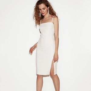 Express white sheath dress. Brand new with tags.